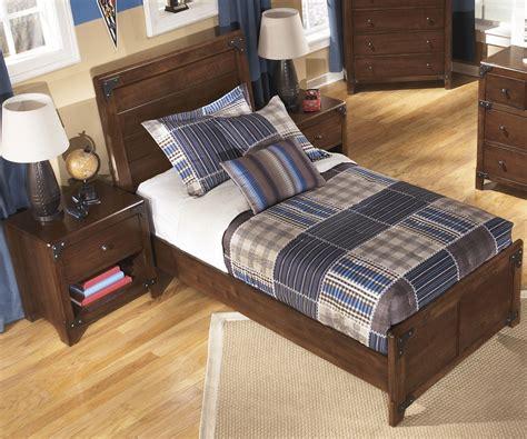 twin bed boys ashley furniture delburne panel bed boys bedroom