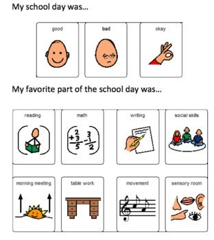 Free Printable Worksheets For Autistic Children by Daily Communication Sheet For Autistic Children By