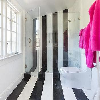 bathroom tile vertical stripe shower with black and white stripe tiles contemporary bathroom