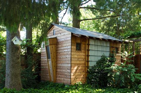 Shed In Backyard by Suburban Oasis Shed Philadelphia By