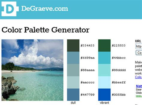 color palette maker blue color palette generator images