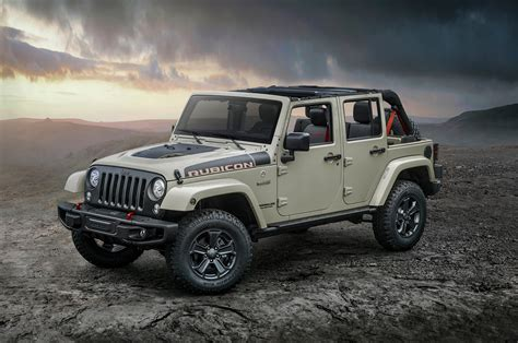 How To Road In A Jeep 2017 Jeep Wrangler Rubicon Recon Is The Most Road