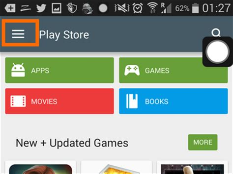 play store menu how do i disable automatic app updates on my android phone