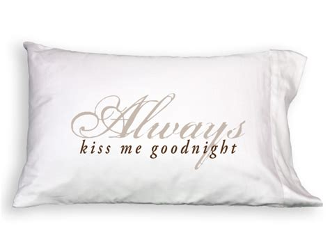Always Me Goodnight Pillow Cases by Always Me Goodnight Pillow Set