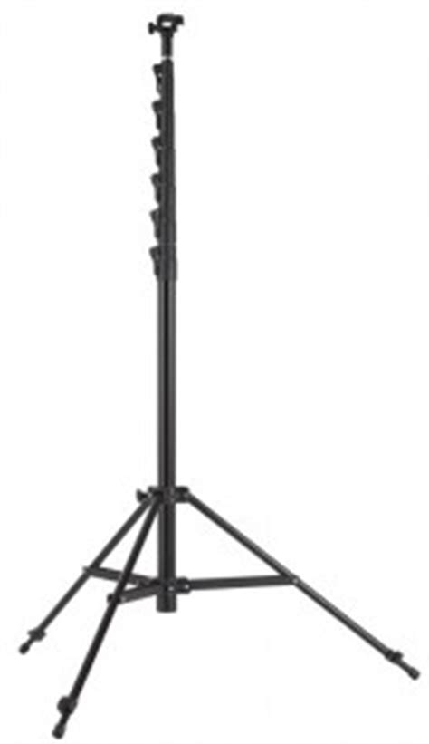 the megamast 28 foot tall carbon fiber camera stand