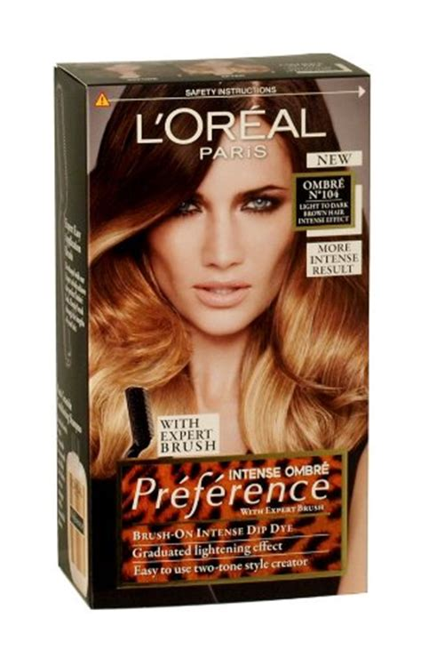 hair color side effects loreal l oreal preference wild ombres dip dye hair kit ombre no