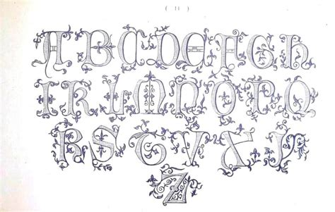 embroidery templates letters 6 best images of free vintage printable alphabet designs
