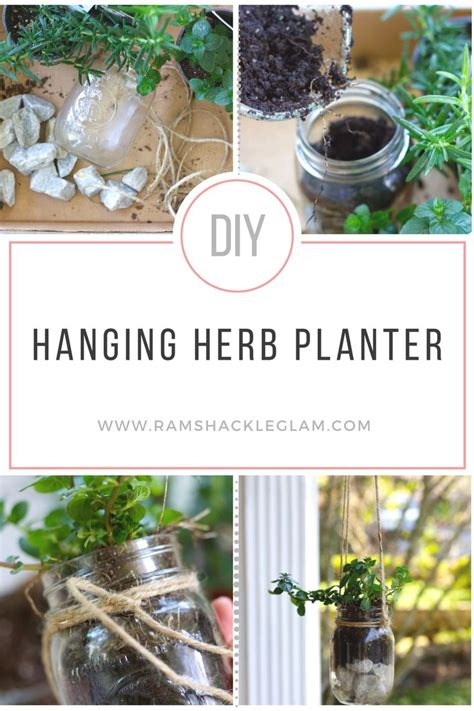 make your own hanging planter 17 best ideas about mason jar planter on pinterest mason