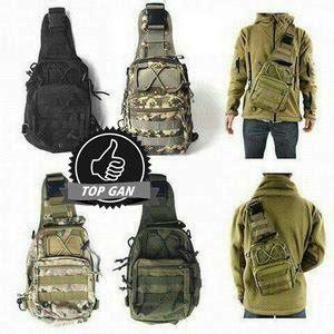 Tas Selempang Tas Selempang Slempang Army Tactical Pria Cowok 3 Way jual tas selempang army p50 warna hitam tas slempang militer tactical army outdoor dll di