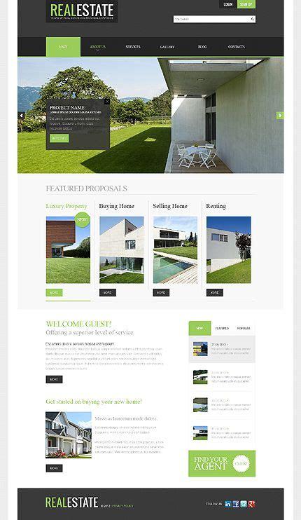 Real Estate Agency Joomla Template Inspiration Web Pinterest Web Design Affordable Real Estate Development Website Templates