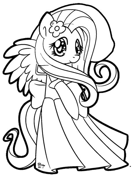 my little pony coloring pages dress my little pony coloring pages princess cadence wedding