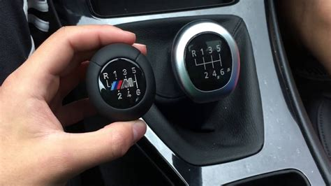E90 Shift Knob Removal how to replace bmw shift knob e90