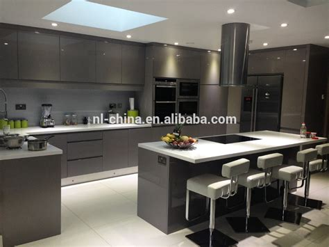 Modern High Gloss Kitchen Furniture White Luxury Modern European Style Modern High Gloss Kitchen Cabinets