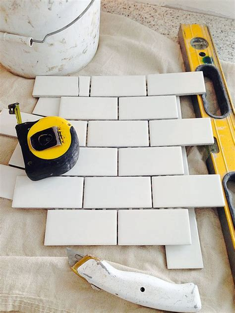 tile sheets for kitchen backsplash planning to install subway tile backsplash using mini tile