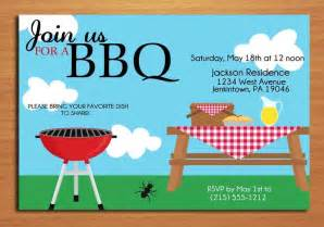barbecue invitation template free 8 best images of summer bbq invitation printable summer