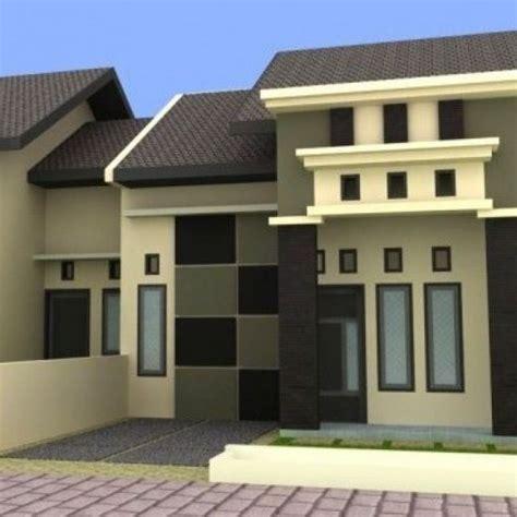 cat design eksterior rumah 31 warna cat rumah minimalis bagian depan dan dalam