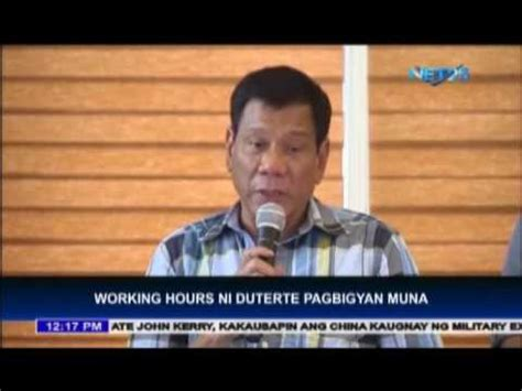 youth digital cs c csc sees no problem with duterte s working hours