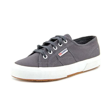 womens grey sneakers superga superga 2750 cotu womens textile gray sneakers shoes