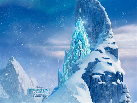 frozen wallpaper jpg icecastle in frozen wallpapers hd wallpapers id 12993