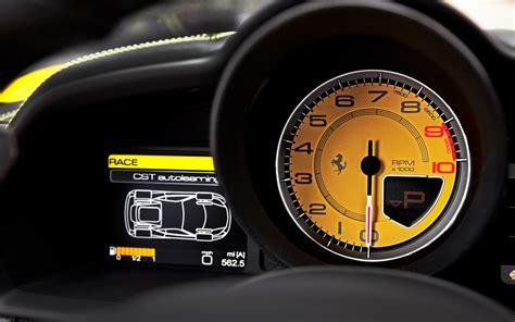 ferrari dashboard 2010 ferrari 458 italia laguna lap motor trend