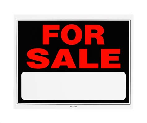 house for sale sign template printable car for sale sign cliparts co
