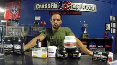 7 supplements for crossfit rich froning supplements what supplements does rich use