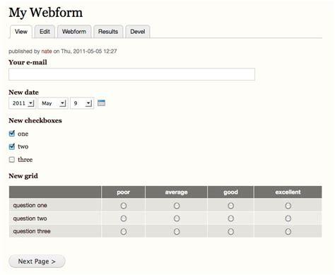 drupal theme webform webform drupal org
