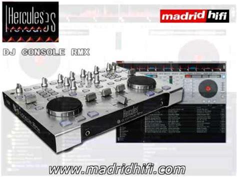 dj console software controlador software hercules dj console rmx
