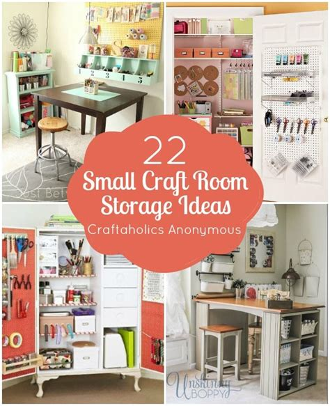 craft room storage made easy ideas 25 best ideas about small craft rooms on