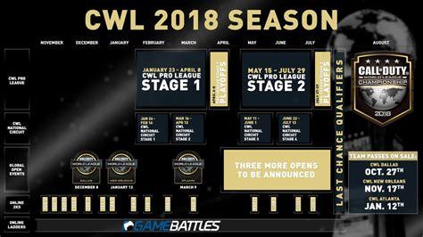 Calendario Worlds Lol 2017 Desvelado El Calendario De La Call Of Duty World League