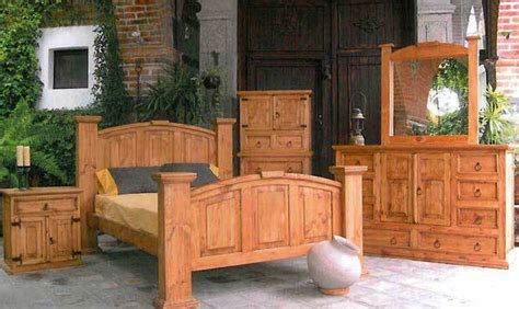 traditional style mansion bedroom set western rustic real wood furniture ebay