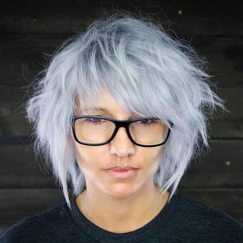 gray shag haircuts best 20 gray hairstyles ideas on pinterest short gray