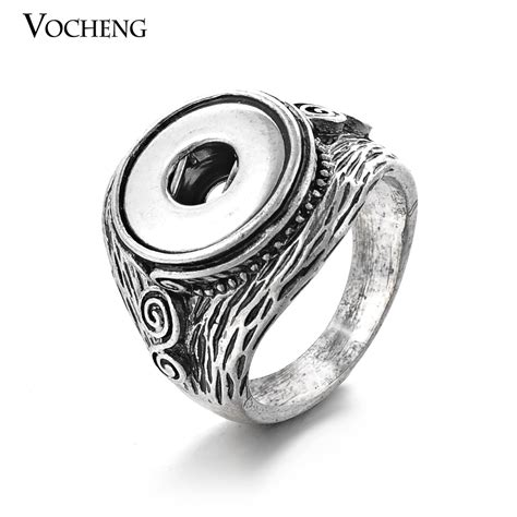 Snap Ring H 12 Mm Hitam aliexpress buy vintage ring interchangeable jewelry snap button ring for small 12mm
