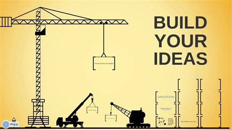 Build Your Ideas Free Prezi Template Youtube How To Build A Template