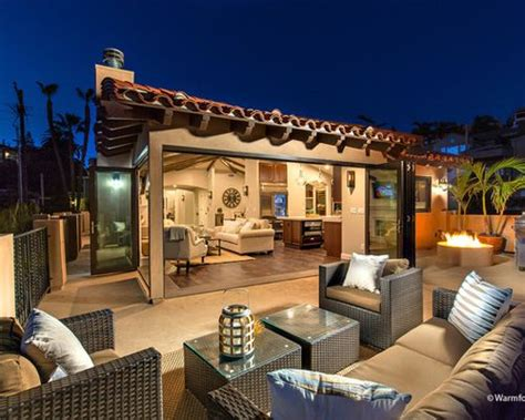 feuerstelle für garten und terrasse idee mediterran terrasse