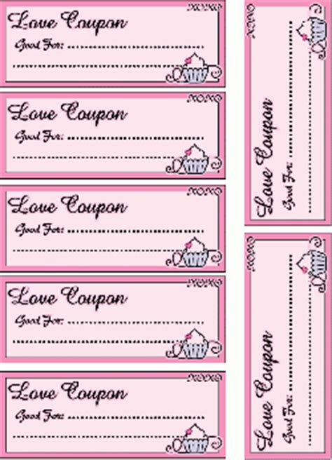 50 printable love coupon ideas love coupons valentines crafts free printable ideas