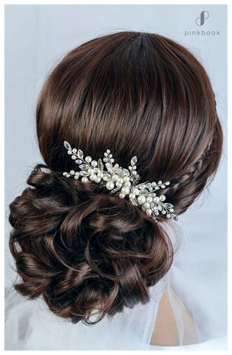 Wedding Hairstyles With Pearls by 10 Beautiful Wedding Hairstyles For Hair L Pink Book