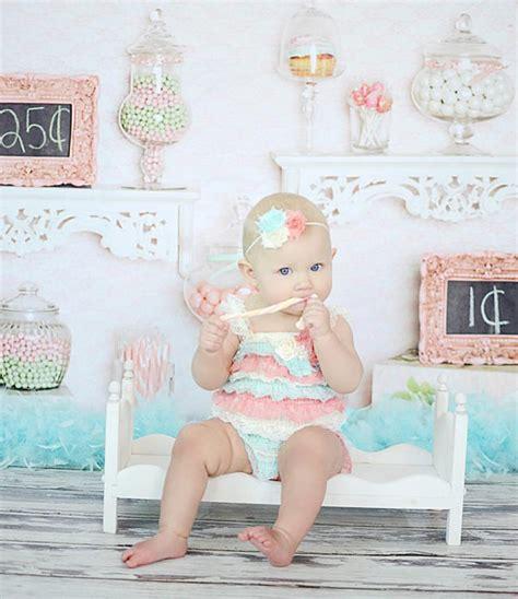 mint and coral headband baby headband lace baby mint coral ivory baby headband baby by