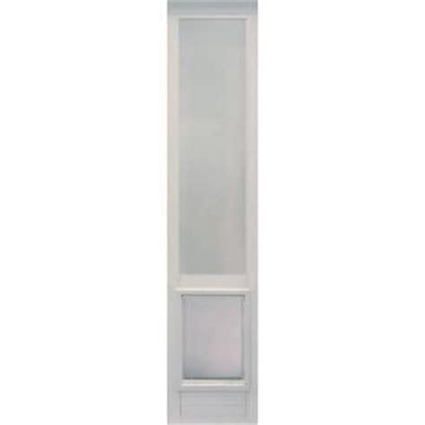 Doggie Door For Sliding Glass Door Home Depot 10 5 In X 15 In Large White Vinyl Pet Patio Door Fits 76 75 In To 78 5 In Vinyl