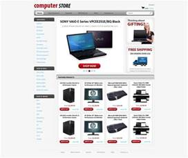 Free Store Html Templates by Computers Store Web Template Free Store Templates
