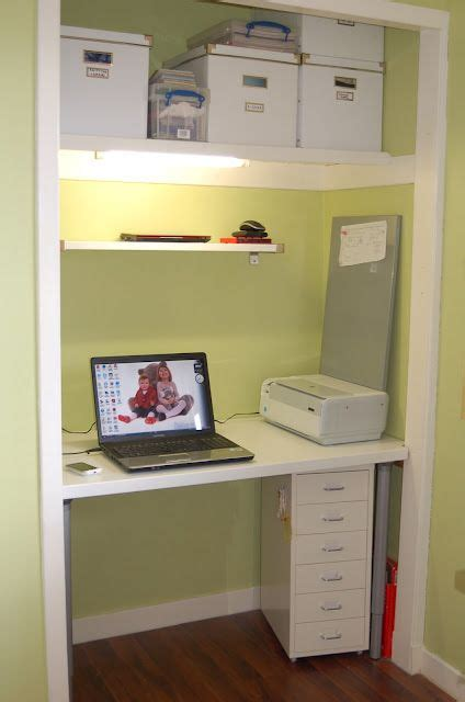 desk inside a closet computer desk inside the wardrobe is a much better use of