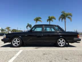 small engine maintenance and repair 1993 volvo 240 on board diagnostic system 1993 volvo 240 dl sedan 4 door 2 3l last year made rare black on black for sale photos