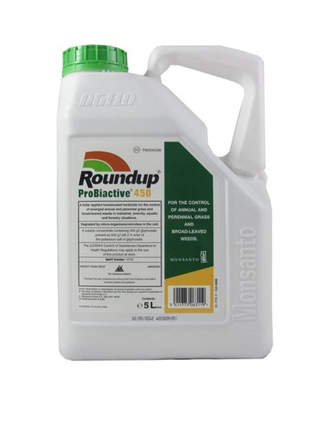 The Roundup by Roundup Probiactive 450 Herbicide