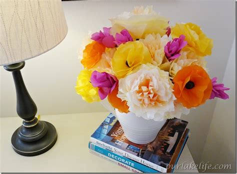 tissue paper flower bouquet tutorial parenting geekly need an easy homemade mother s day gift