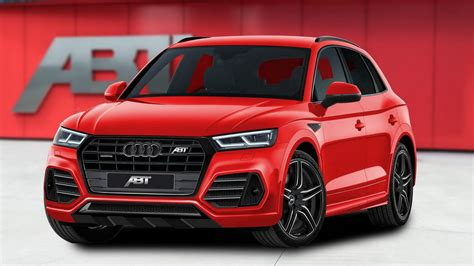 Audi Q5 Abt by Audi Sq5 Gets The Abt Treatment Comes With 419hp Carscoops
