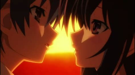 anime date a live kiss date a live gt first kiss scene world of anime