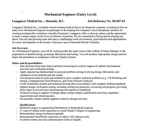 design engineer job description pdf design engineer job description resume template sle