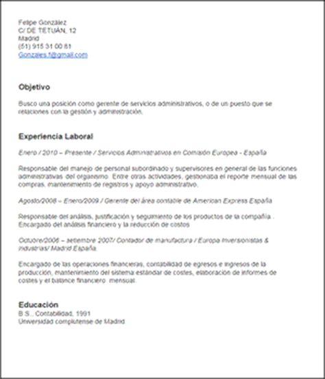 Ejemplo Curriculum Vitae Administrativo Comercial Modelo De Curriculum Vitae Gerente Administrativo Modelo De Curriculum Vitae