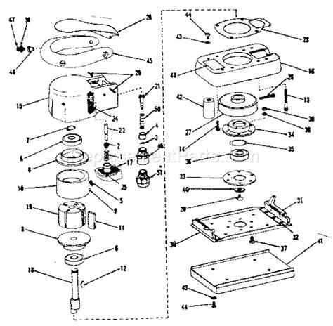 Craftsman Orbital Sander 756188280 Ereplacementparts Com