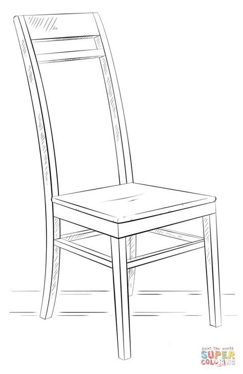 stuhl zeichnung stoel kleurplaat gratis kleurplaten printen